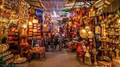 Ideas for gifts and memories can be purchased in Morocco