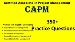 CAPM 6th Edition-Practice Test (2) # 350+ Questions