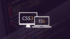 Modern Responsive Website with CSS3 Flexbox and ES6