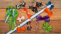Ribbons & Hairbows Galore