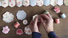 How to Sew a Hexi Quilt Top By Hand