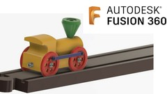 Learn Autodesk Fusion 360 Part Modelling from scratch