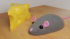 Mouse 'n Cheese - Learning to 3D Model in Blender