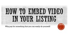 Selling on th e Bay - How To Embed Videos in Listings