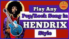 Play Like Hendrix & John Mayer: The Rock N Roll THUMB Course