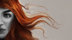 Digital Art : Painting Realistic Hair