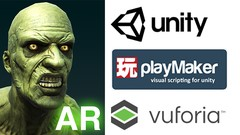 Make An AR App with Unity and Playmaker Without Coding!