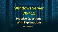 Windows Server 2012 70-411 Practice Tess