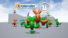 【超初心者向け】Blenderでキャラクターをモデリングしてアンリアルエンジンで動かす講座【ハンズオン】