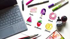 Zeichnungen, Aquarell und Lettering digitalisieren