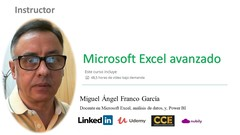 Curso Curso Microsoft Excel avanzado, y, Power BI (Ver. 2019)