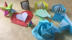 Learn how to fold Awesome Origami models
