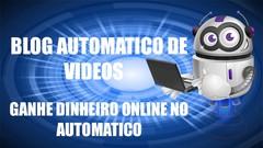 Blog automatico - ganhar dinheiro online marketing digital