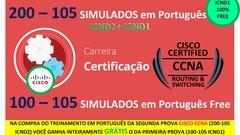 Carreira Certificação CISCO CCNA Simulados PT-br + BRINDES