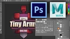 Creating 3D Logos with Maya and Photoshop