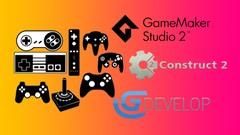 Crie Jogos 2D no GDevelop, Game Maker Studio e Construct 2