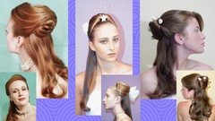 Three Easy Half up Hairstyles for Bridal or Prom
