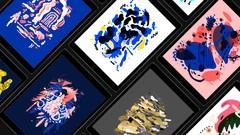 Abstract & Organic iPad Doodling