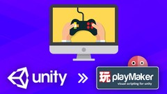 Unity and Playmaker No Coding Action Adventure Game Making!