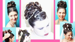 Hairstyles & Updo's for Quiencerata, Weddings, & Prom