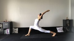 Yoga lesson for hips