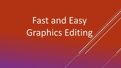 Graphics and Image Editing for Non-Graphic Designers