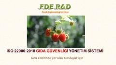 ISO 22000:2018 GIDA GÜVENLİĞİ STANDARDI