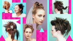 Fabulous Fringy Updo hairstyles anyone can do!