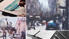 Advanced Watercolor Street Scene And Cityscape Techniques