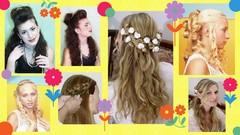 Half Up Half Down Hairstyles for Curly Hair