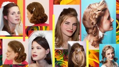 5 Hairstyles !  Step by Step for Medium Length Hair