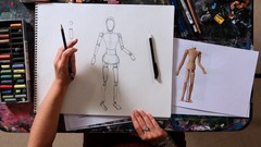 How to Draw Basic Human Figures + Draw an Anime Body