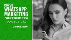 Generación de ventas con Whatsapp Marketing