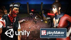 Unity and Playmaker - Make 3D Zombie Shooter Without Coding!