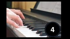 Curso de ejercicios técnicos al piano Vol.4