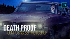 PRO Photoshop Composing - Death Proof