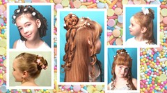 Updo's & Hairstyles for Children and Flower girls
