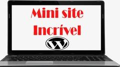 Mini site incrível - trabalhar online  marketing digital