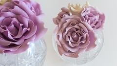 Learn To Create Vintage Sugar Roses