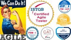 ISTQB Agile Practice Test/ Mock Up Exam + PSM, PMI, CAT, CSM