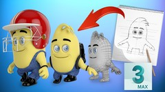 Super Easy & Fun 3d Character Animation in 3ds max (Part-I