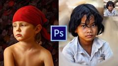Photoshop CC: Transforme seus retratos em incríveis pinturas