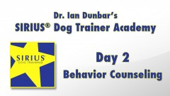 SIRIUS Dog Training Academy - Day 2 of 4