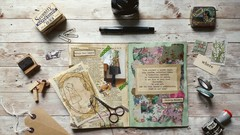 Create personalised Mixed Media Inspiration Journal