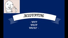 Accounting made easy in 60 minutes