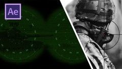 After Effects CC: Night Vision, Sniper Scope and CCTV look