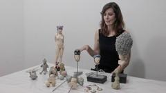 Escultura en Plastilina Epoxica + Pintura de Piezas