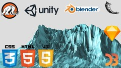 Build Games with Unreal, Engine Unity®, and Blender!