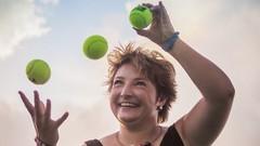 Gehirntraining durch Jonglieren-Lernen