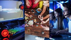 Game Design Masterclass - Board and Digital - 4 Courses in 1
